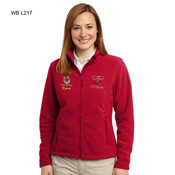 L217WB - EMB - FULL ZIP FLEECE JACKET - LADIES