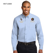 TLS608WB - EMB - TALL LONG SLEEVE EASY CARE SHIRT